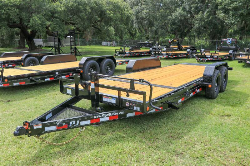 7X20 TILT PJ Trailer I Equipment Trailer