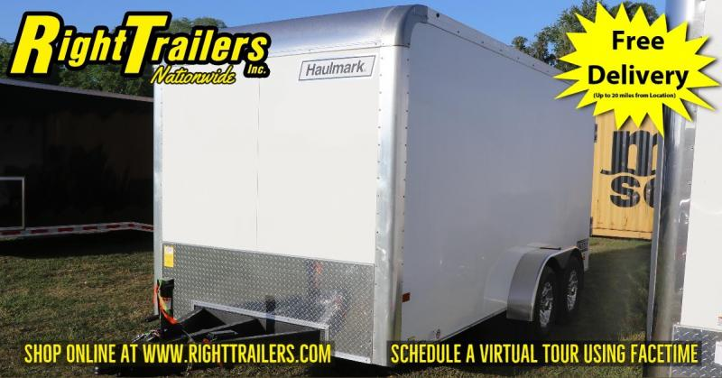 7X16 Haulmark Grizzly I Enclosed Cargo Trailer