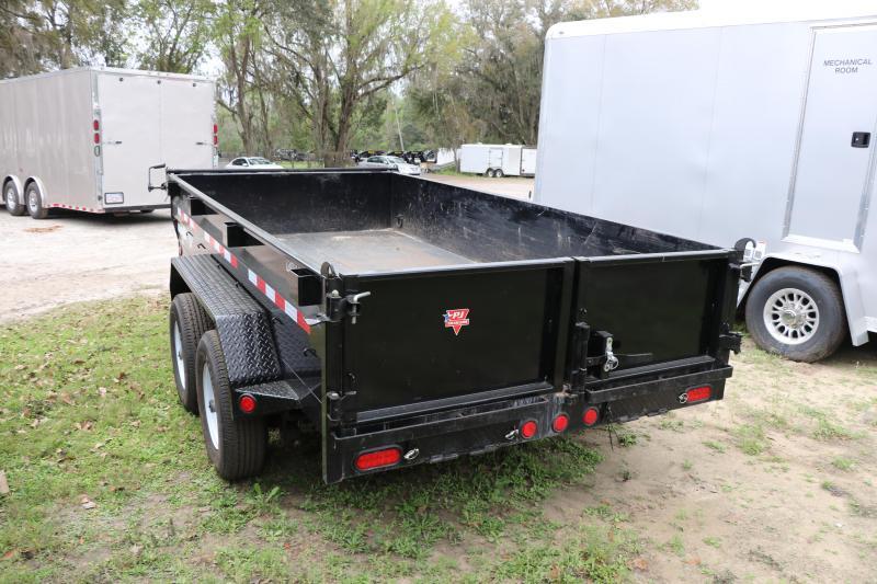 6x12 PJ Trailer | Dump Trailer