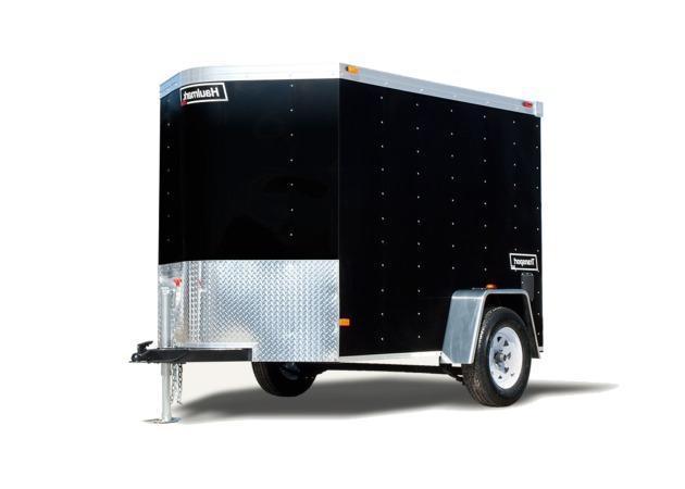 2020 HAULMARK Transport V-Nose - 5 ft Wide - 2980 LB. Deluxe V-Nose Cargo Trailer