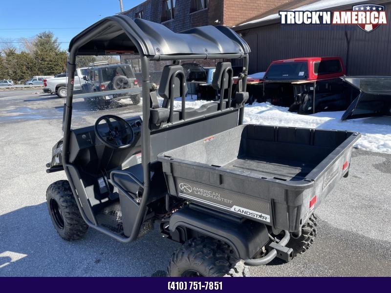 2019 American LandMaster Landstar 550 DL Base 4WD Utility Side-by-Side (UTV) - Black