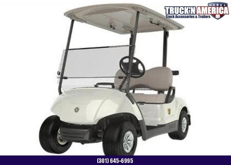 2012 Yamaha DRIVE Golf Cart Gas - White