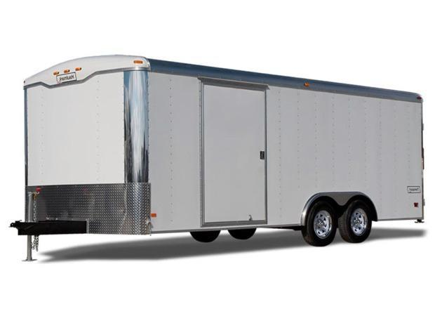 2020 Haulmark Transport Deluxe - 8.5 ft Wide Tandem Axle - 7000 and 10000 LB. Round Top Cargo Trailer