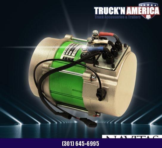 2021 American LandMaster EV 4x2 Utility Side-by-Side (UTV) - RED