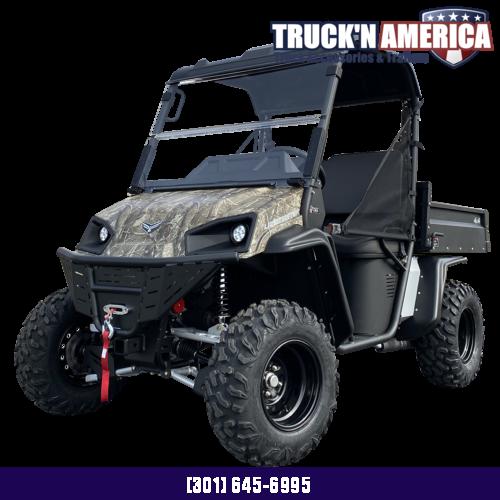 2021 American LandMaster L7 Utility Side-by-Side (UTV) - BLACK