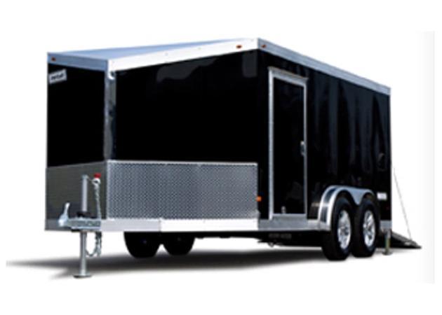 2020 HAULMARK ALX - 7.5 ft Wide Motorcycle Trailer - 7000 LB Tandem Axle