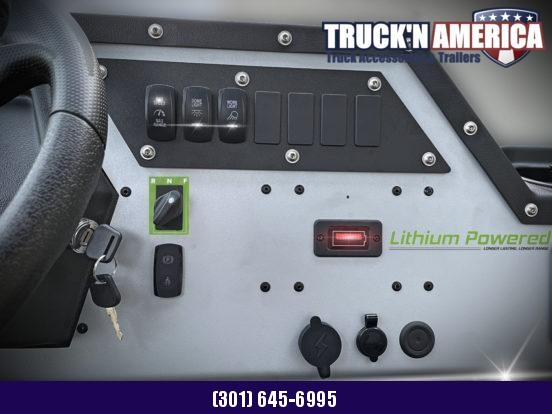 2021 American LandMaster EV 4x2 Utility Side-by-Side (UTV) - BLUE