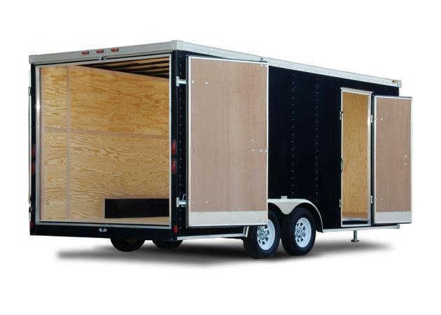 2020 HAULMARK JSC - 8.5 ft Wide Tandem Axle Job Site Cargo Trailer - 7000 10000 12000 14000 LB. Cargo Trailer