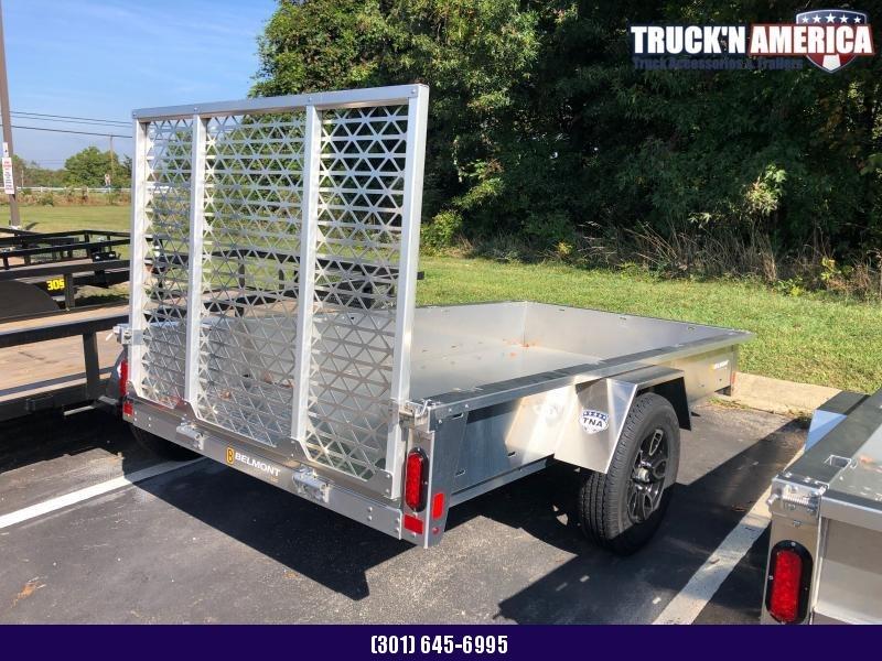 2021 Belmont bem-air6110 - 5x10 Alum Utility Trailer Rear Mesh Gate