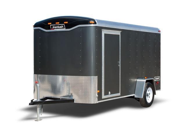 2020 Haulmark Transport - 6 ft Wide - 2980 LB. Deluxe Round Top Cargo Trailer
