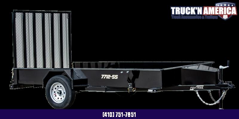 2021 Fox Trail 660 Series 10' Single Axle Utility Trailer