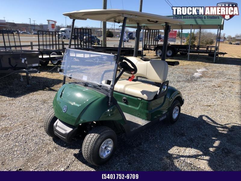 2021 Yamaha Drive2 48v Golf Cart - Green