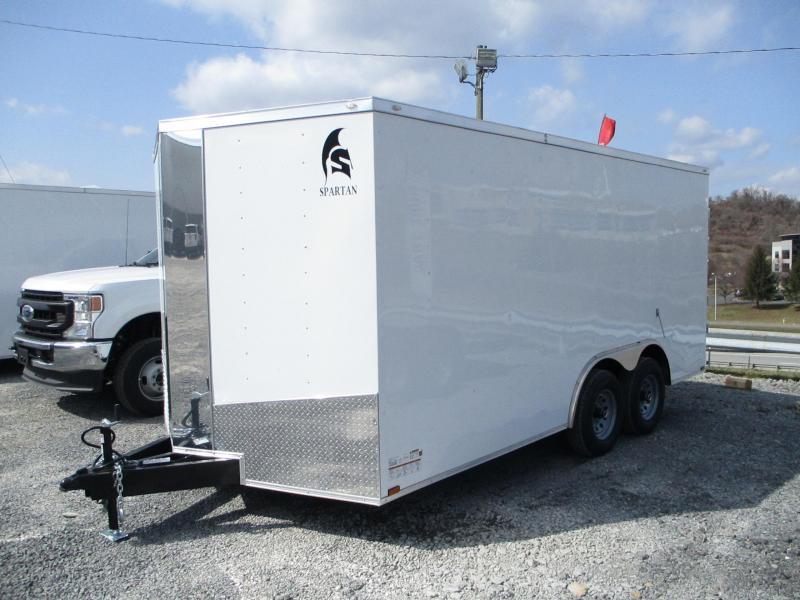 2021 Spartan Cargo 8.5 X 16 Enclosed Cargo Trailer