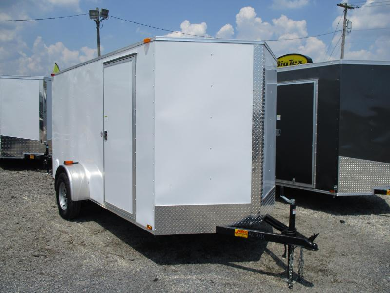 2021 Spartan Cargo Warrior 6 X 12 Enclosed Cargo Trailer