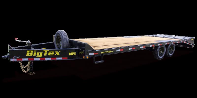 2022 Big Tex Trailers 14PH 102 X 20+5 Equipment Trailer