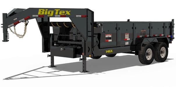 2022 Big Tex Trailers 14GX 83 x 16 Dump Trailer