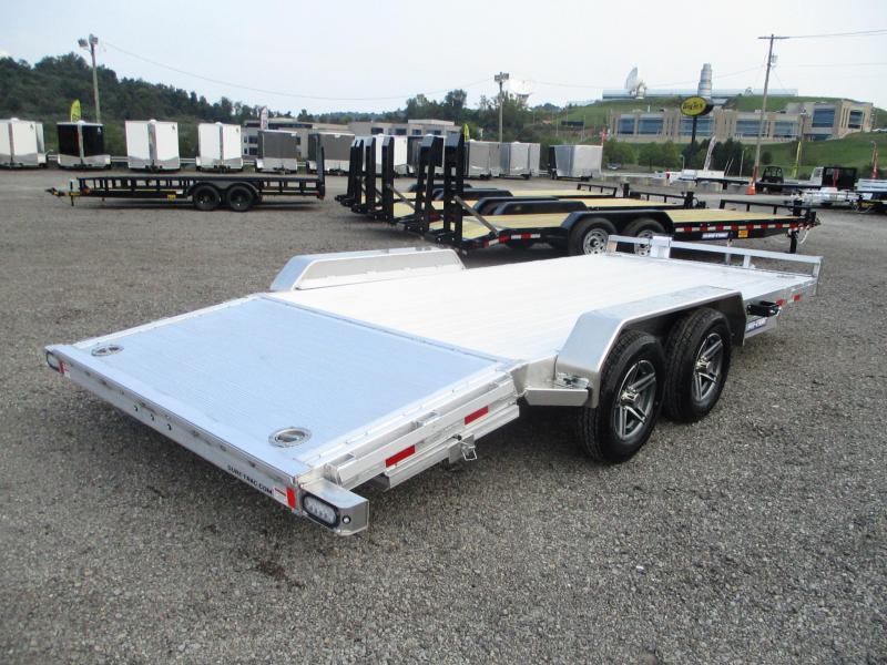 2022 Sure-Trac 7 X 20 (16+4) C-Channel Aluminum Car Hau