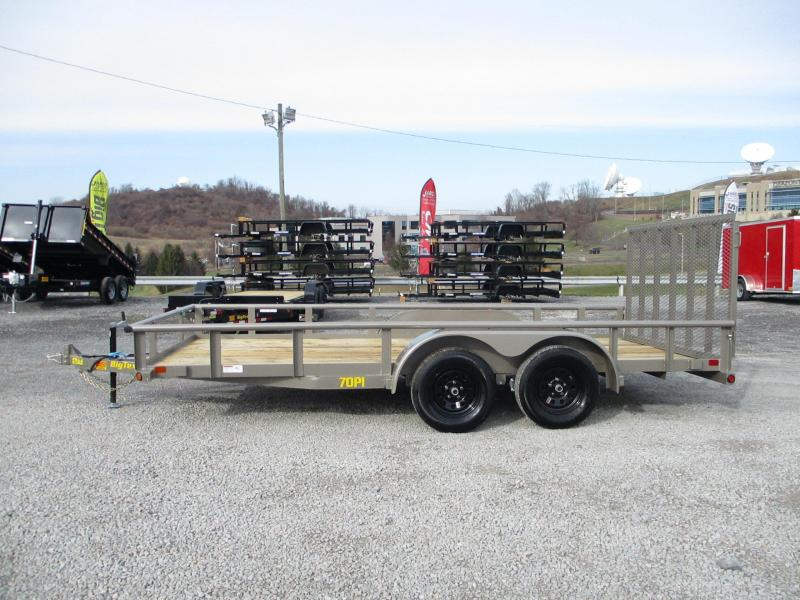 2021 Big Tex Trailers 70PI 83 X 18 Utility Trailer