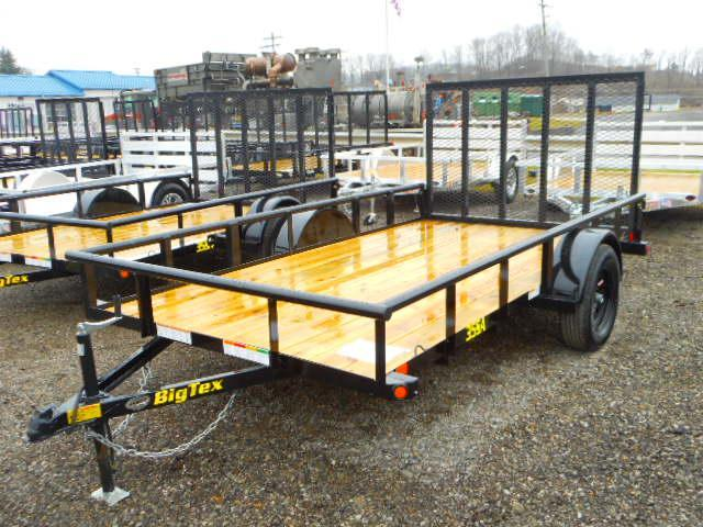 2021 Big Tex Trailers 35SA 77 X 14 Utility Trailer