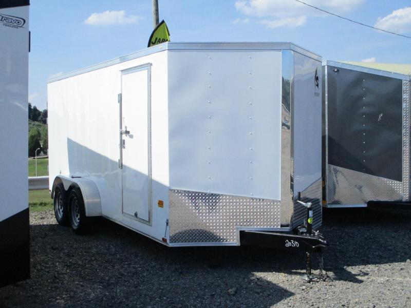 2021 Spartan Cargo 7 X 16 Tandem Axle Enclosed Cargo Trailer