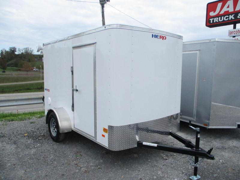2022 Bravo Trailers Hero 6 X 10 Enclosed Cargo Trailer