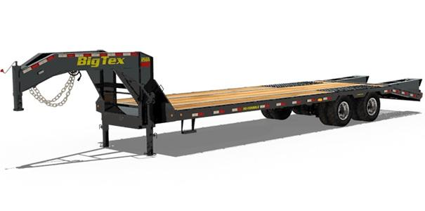2021 Big Tex Trailers 25GN 102 X 35+5 Equipment Trailer