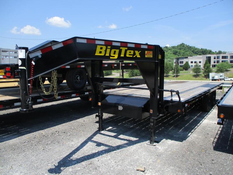 2020 Big Tex Trailers 14GN 102 X 20 Equipment Trailer
