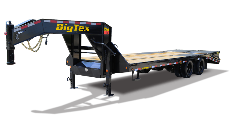 2022 Big Tex Trailers 25GN 102 X 30+5 Equipment Trailer