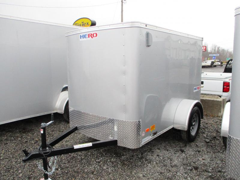 2021 Bravo Trailers Hero 5 X 8 Enclosed Cargo Trailer