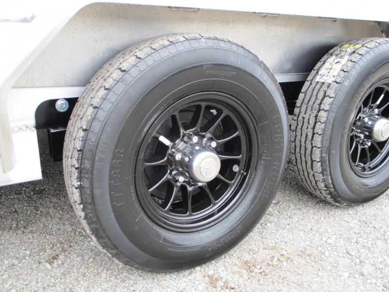 2021 Sure-Trac 7 X 18+2 Aluminum Implement 10K Equipment Trailer