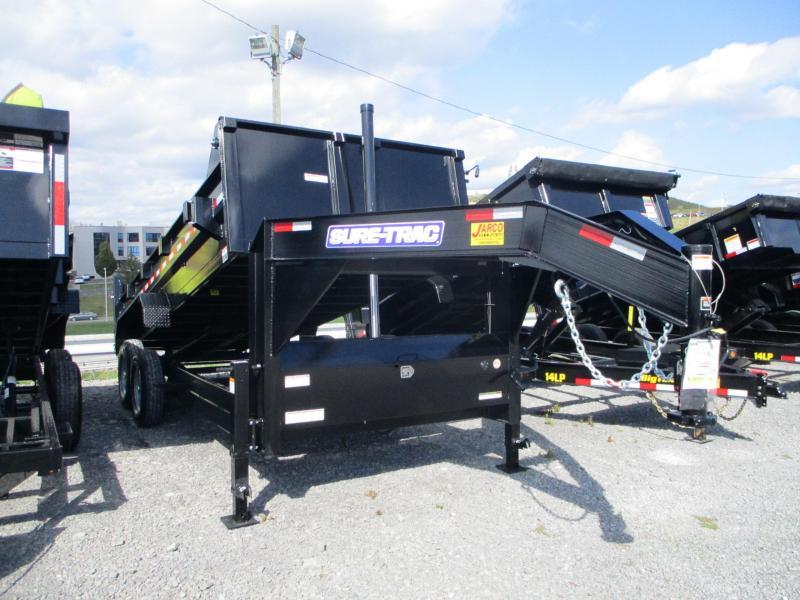 2022 Sure-Trac Gooseneck 82X16 Dump Trailer