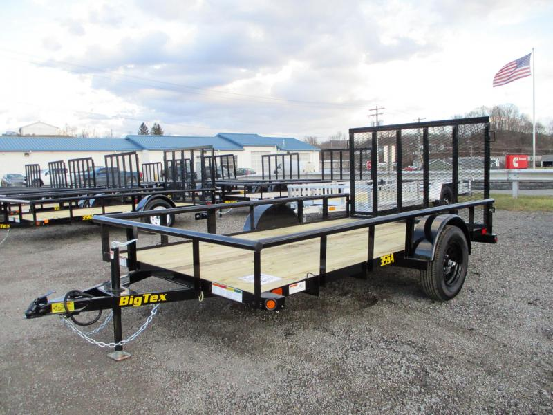 2021 Big Tex Trailers 35SA 77 X 12 Utility Trailer