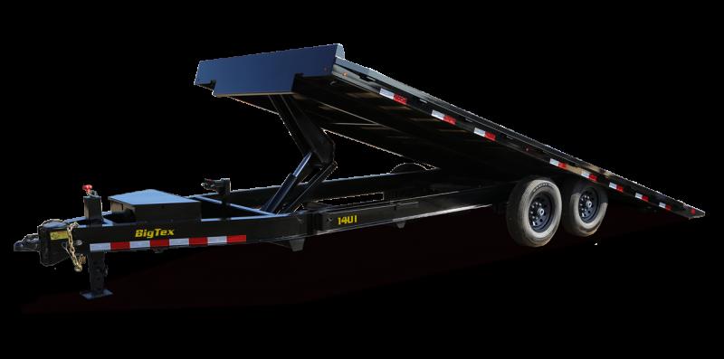 2022 Big Tex Trailers 14OT 102 X 24 Tilt Equipment Trailer