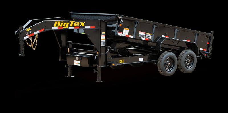 2022 Big Tex Trailers 16GX Gooseneck 83 X 16 Dump Trailer