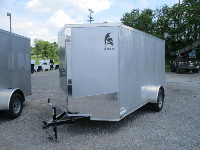 2020 Spartan Cargo 6 X 12 Enclosed Cargo Trailer