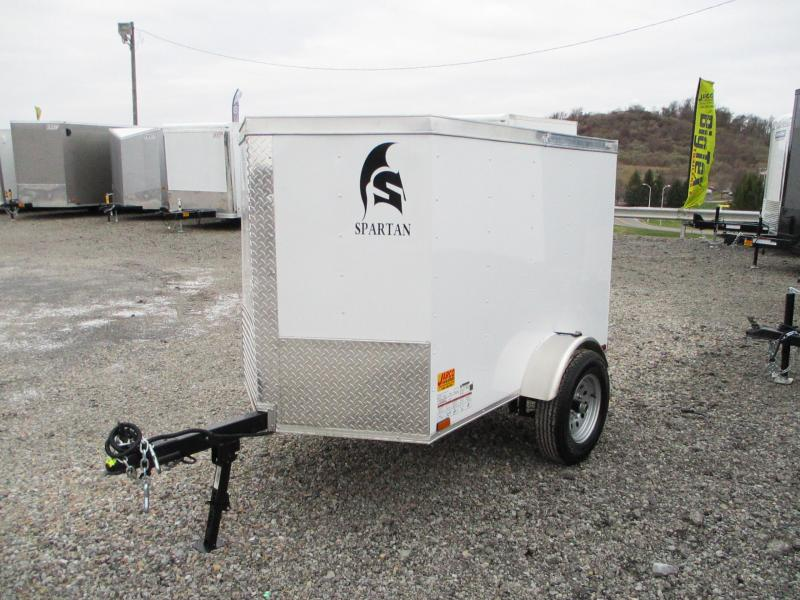 2021 Spartan Cargo 4 X 6 Enclosed Cargo Trailer