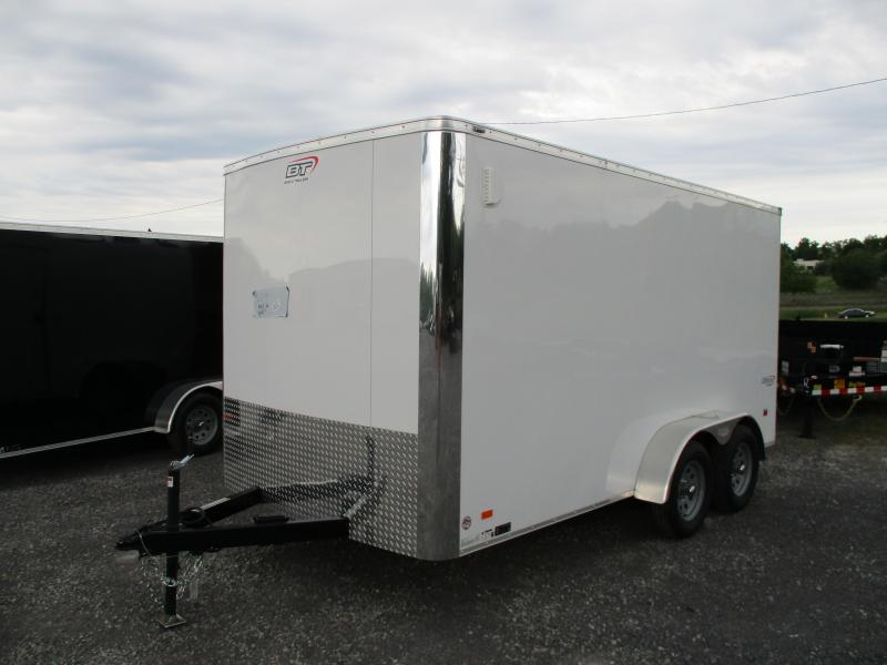 2020 Bravo Trailers Scout 7 X 14 Tandem Axle Enclosed Cargo Trailer