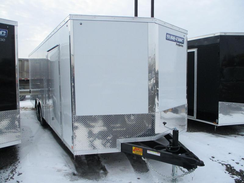 2021 Sure-Trac 8.5 x 24 Pro Series Enclosed Wedge Car H