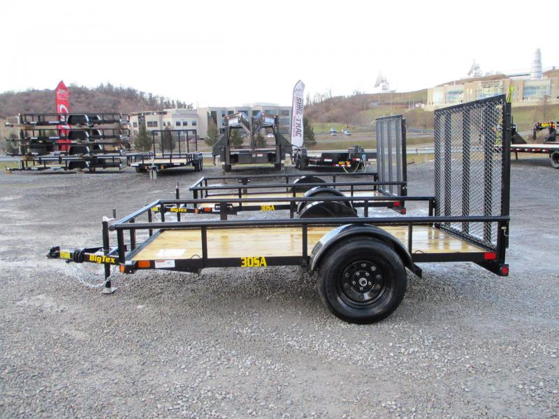 2021 Big Tex Trailers 30SA 5 X 10 Utility Trailer