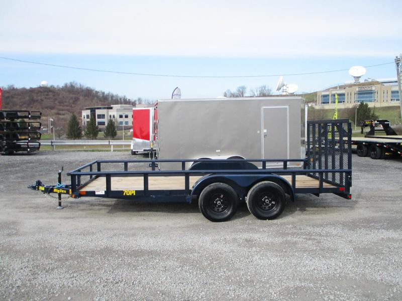 2021 Big Tex Trailers 70PI 83 X 16 Utility Trailer