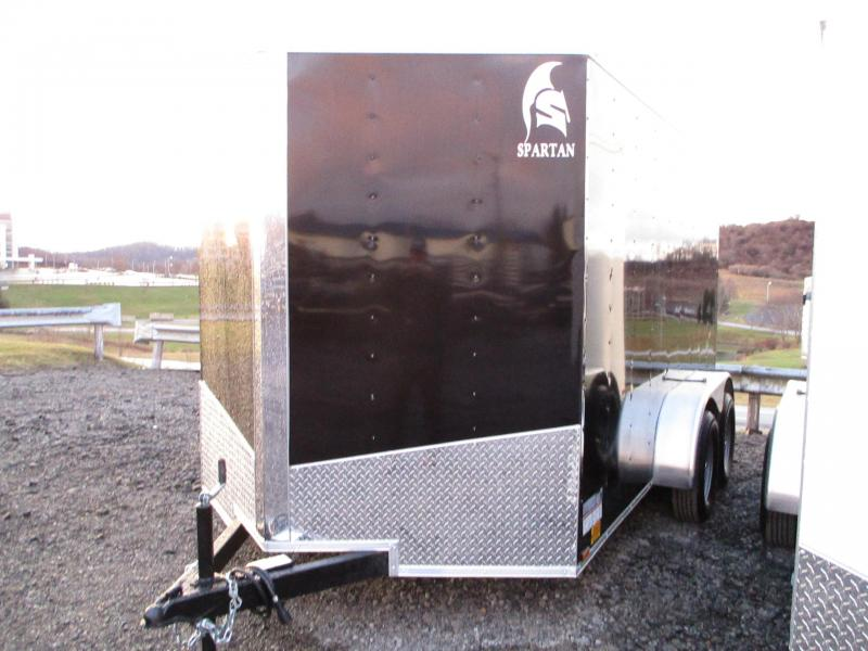 2021 Spartan Cargo 7 X 12 Tandem Axle Enclosed Cargo Trailer