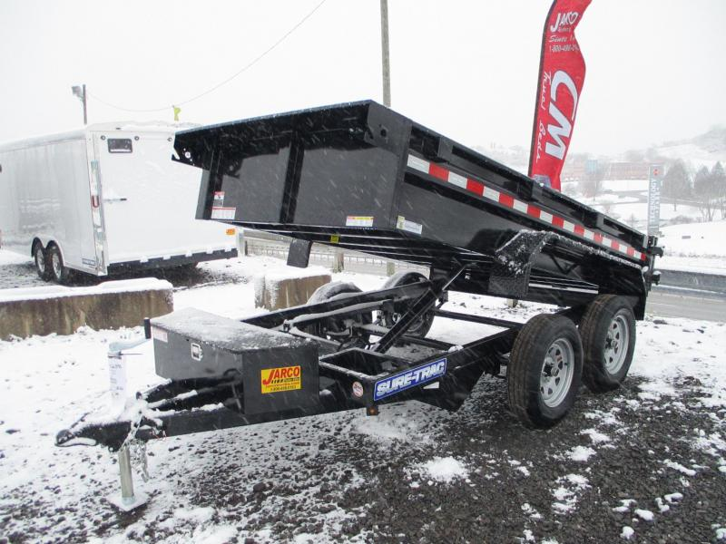 2021 Sure-Trac 5 x 10 Low Profile Homeowner Dump Traile