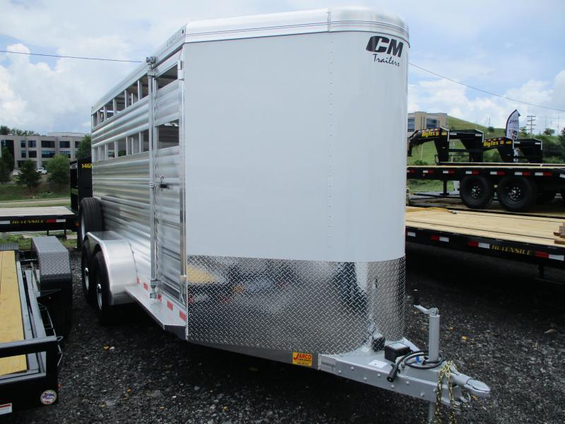 2021 CM Stocker ALV 6'8'' X 16 Livestock Trailer