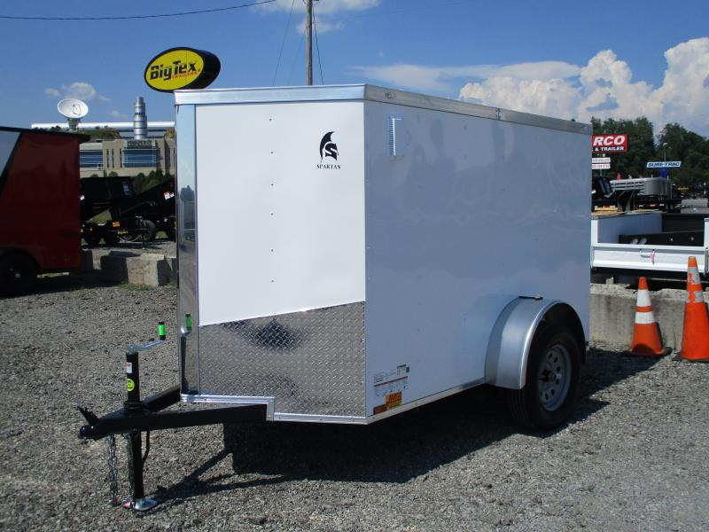 2021 Spartan Cargo 5 X 8 Enclosed Cargo Trailer