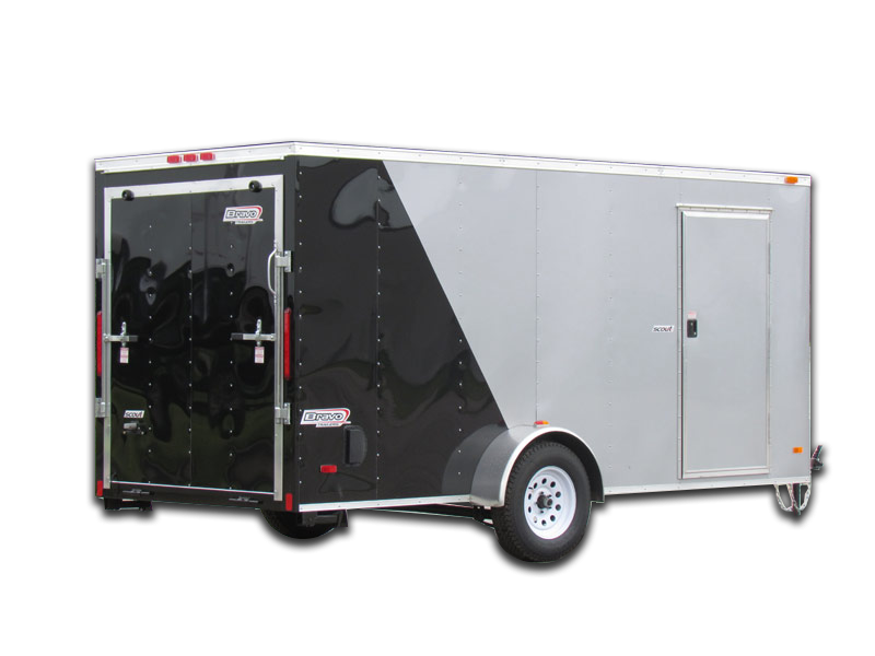 2021 Bravo Trailers Scout 7 X 12 Tandem Axle Enclosed Cargo Trailer