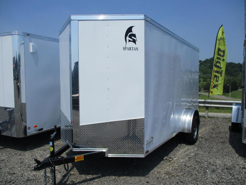 2021 Spartan Cargo 6 X 12 Enclosed Cargo Trailer