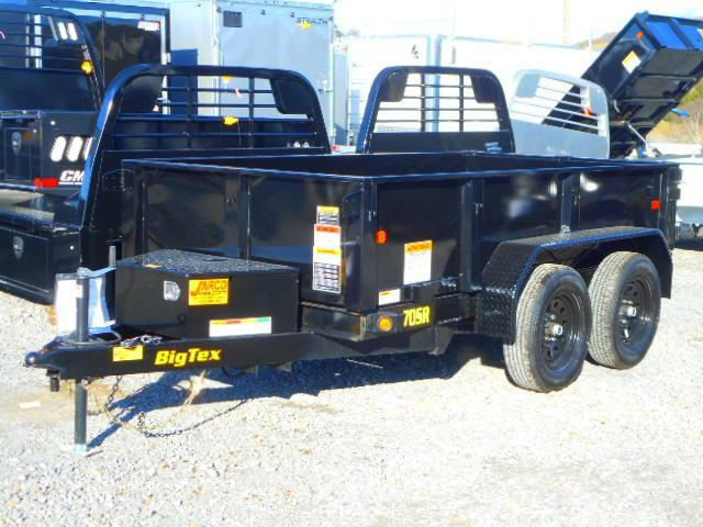 2021 Big Tex Trailers 70SR 5 X 10 Dump Trailer