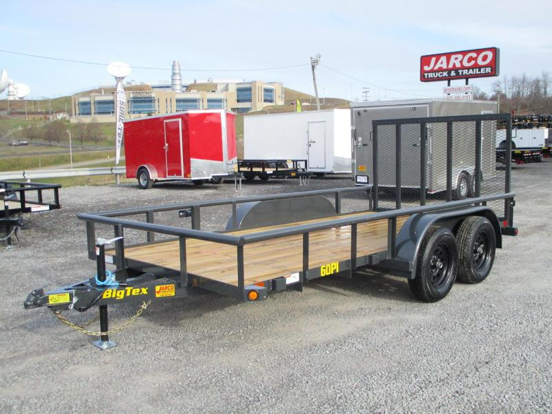 2021 Big Tex Trailers 60PI 77'' X 12 Utility Trailer