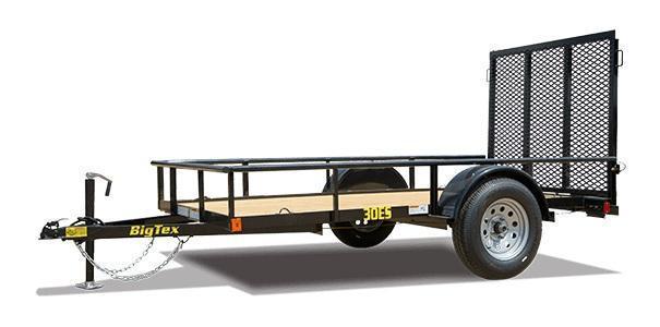 2021 Big Tex Trailers 30ES 5 X 8 Utility Trailer