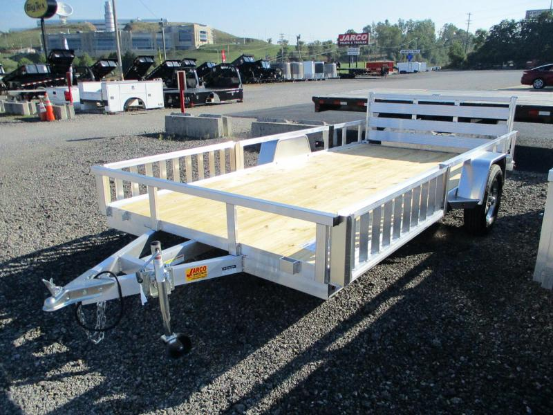 2021 Sure-Trac Aluminum 7 X 14 Tube Top ATV Utility Trailer